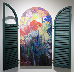 image of painting Arched Windows